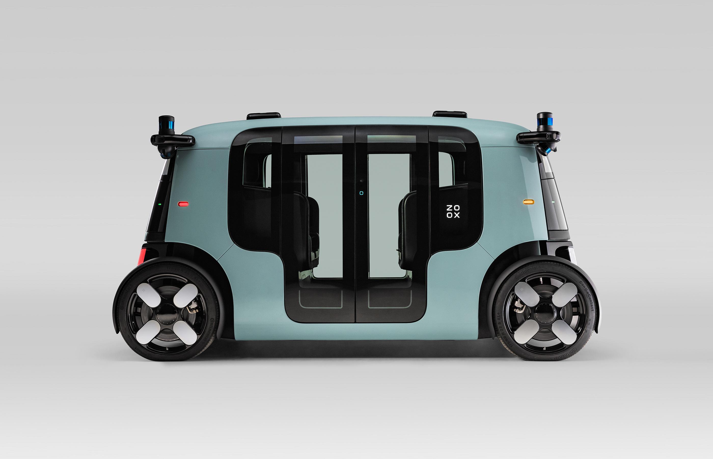 ZF apresenta suas tecnologias inovadoras no robô-táxi da Zoox